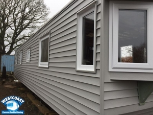 Cladding for Caravans