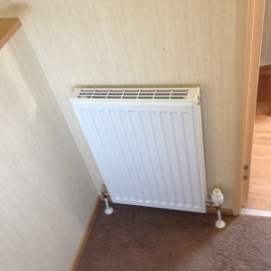 New-Radiator-fitted-in-static-caravan-bathroom