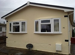 park home double glazing windows and doors