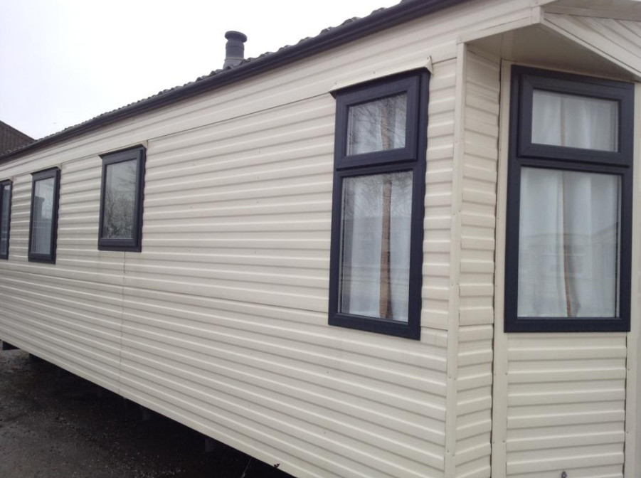 Replacement static caravan double glazing windows and doors in Devon