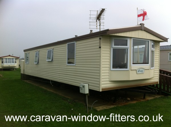 Fully installed double glazing windows doors static caravans West Sussex