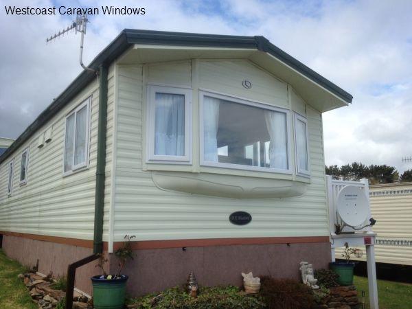 Ladram Bay Caravan Park window installation