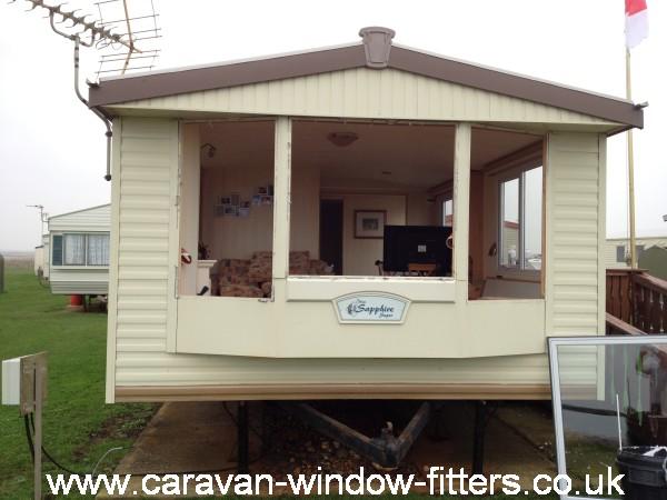 Sapphire caravan double glazing installers