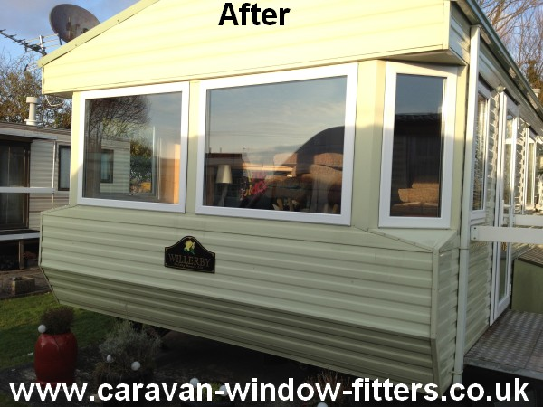 South Wales double glazing for caravans