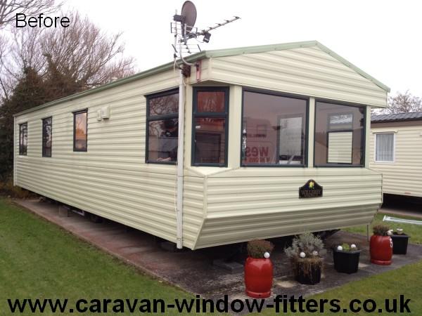 Static Caravan double glazing Trecco bay South Wales