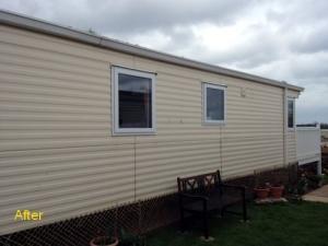 Static caravan windows and doors