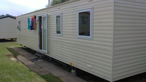 Weymouth static caravan windows and doors
