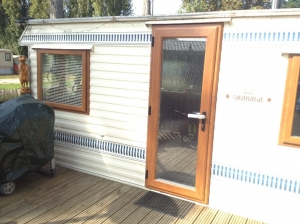 Granada Willerby Caravan Windows Door after
