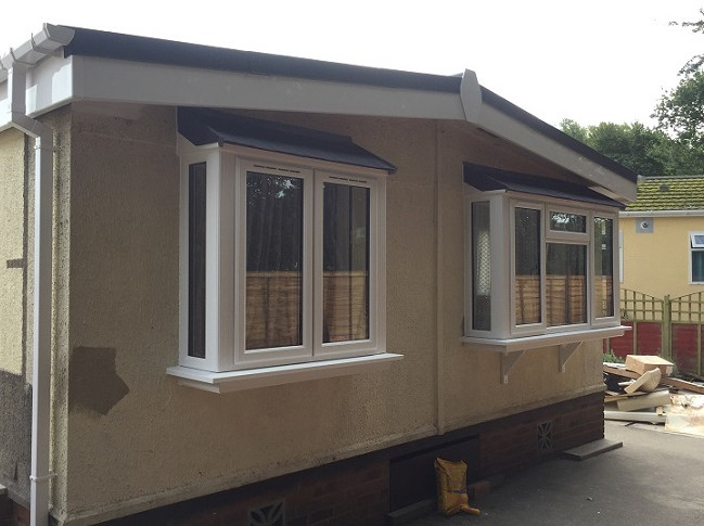 Bay Windows installed at Park Homes
