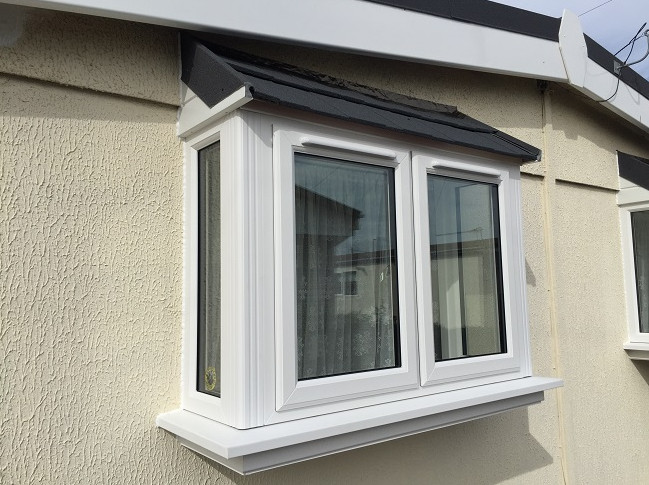 bay window for park home double glazed