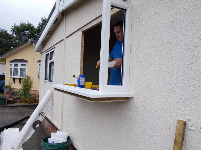 replacing the windows of park homes