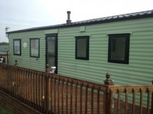 replacement static caravan double glazing in Green