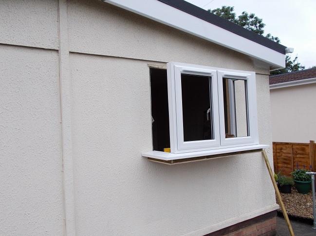 replacing park home double glazed windows