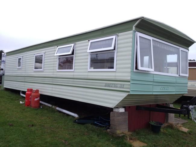static caravan double glazing installers
