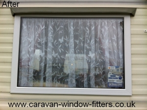 static caravan double glazing installers in wales