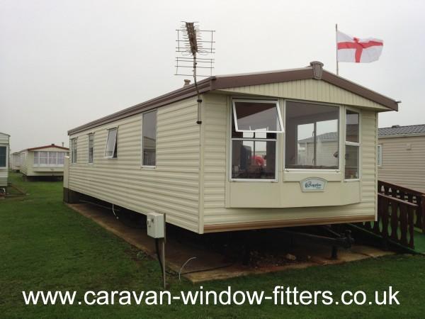 static caravan windows doors in West Sussex