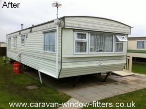 static caravan windows doors replaced rhyl prestatyn north wales