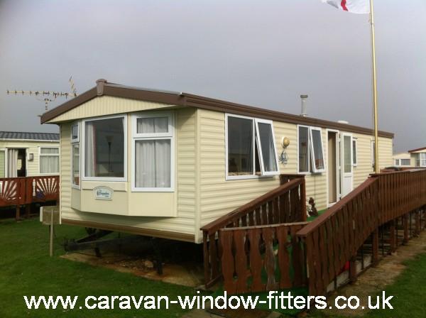 west sussex static caravan double glazing installation