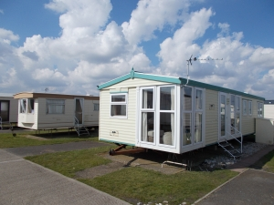 Camber sands East Sussex Static Caravan Installation