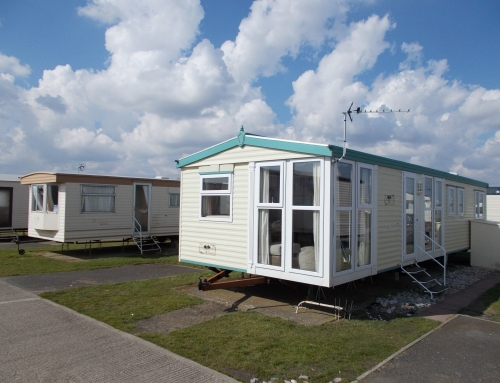 Static caravan double glazing in Camber sands East Sussex