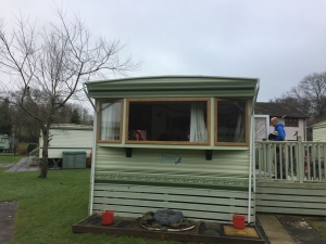 static caravan doors windows South Wales