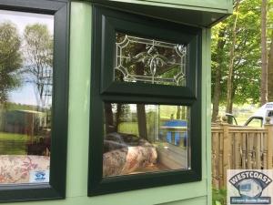 static caravan double glazing windows