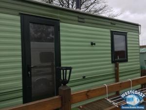 Static Caravan Windows Doors Installed Cumbria