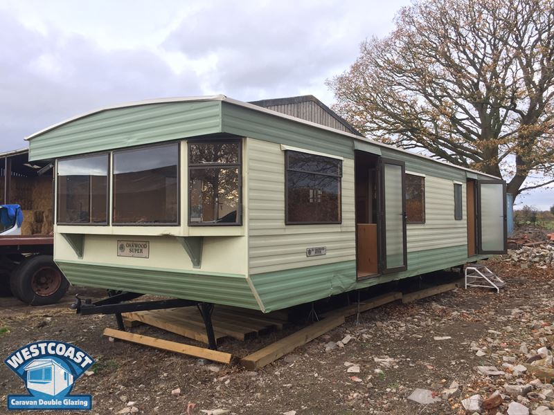 Caravan Cladding Before and After Photos