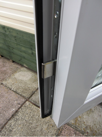 door locking system on our static caravan doors