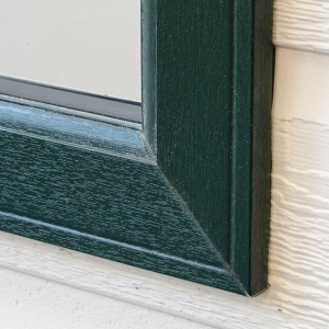 Dark Green windows and doors