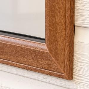 Golden Oak windows and doors