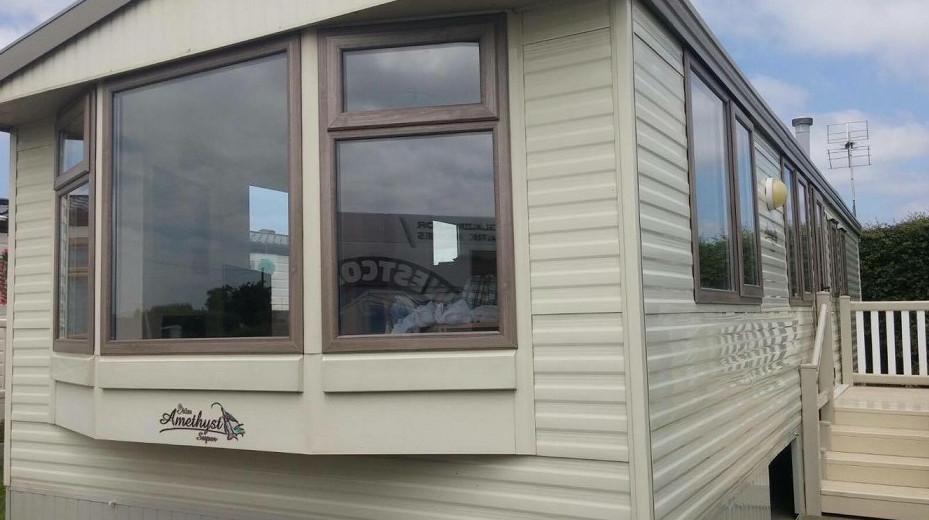 slimline caravan double glazing in Worcestershire
