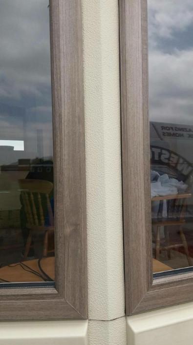 Antique-Teak-caravan double glazing windows