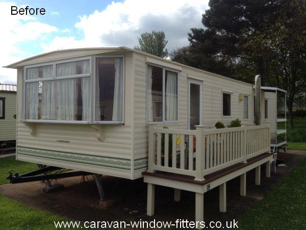 Caravan windows doors installed Minehead