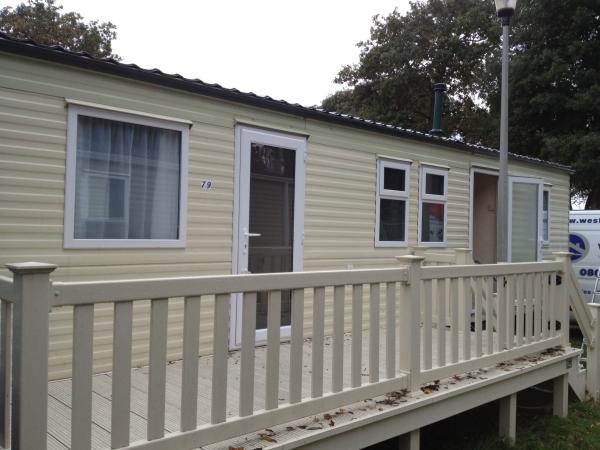 static caravan double glazing in Suffolk