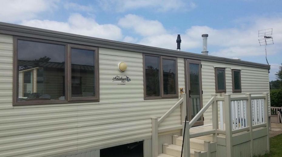 Static caravan double glazing in Evesham