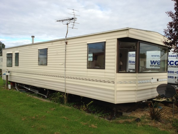 static caravan double glazing in Norfolk