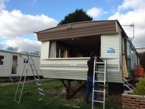 Westcoast caravan windows doors installation in devon