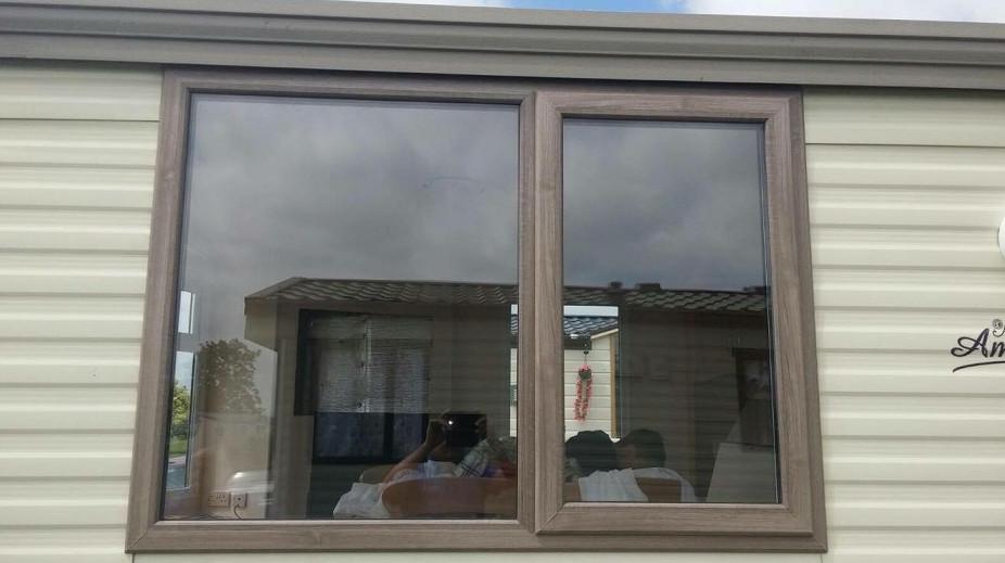 Static Caravan double glazing in Worcestershire