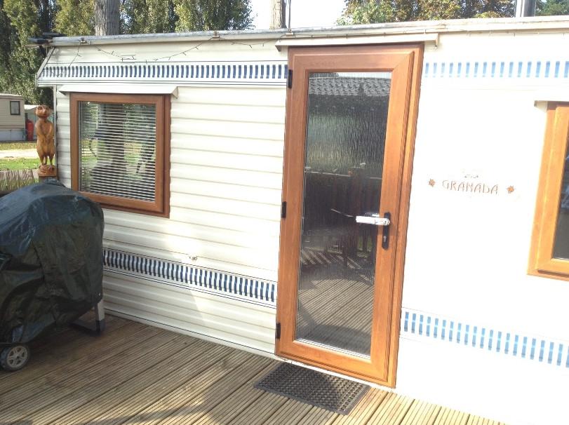 slimline static caravan windows in Northamptonshire