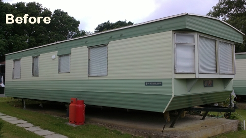 Replacement static caravan windows Hampshire