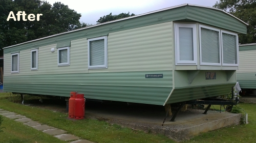 Static caravan double glazing Portsmouth Hampshire