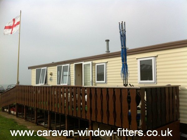 Static caravan double glazing in Chichester , West Sussex
