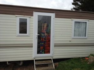 static caravan doors replaced