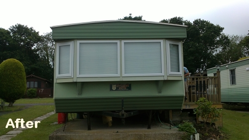 static caravan double glazing in Hampshire