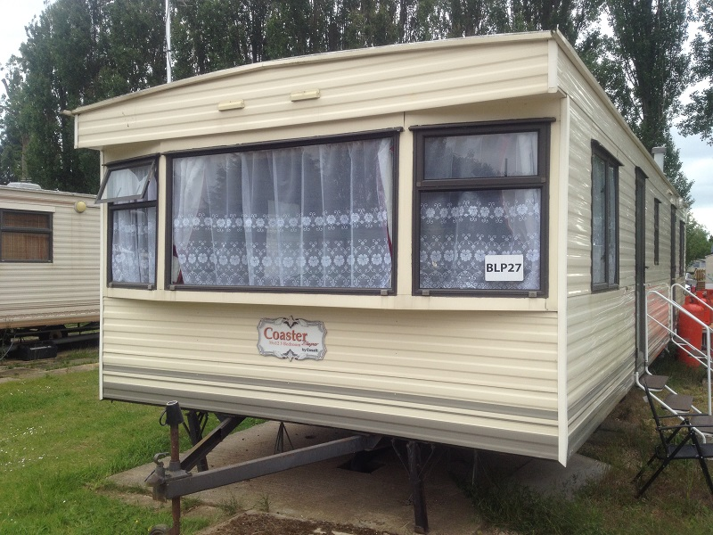 Static caravan double glazing in Northamptonshire