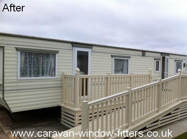 static caravan double glazing rhyl, north wales