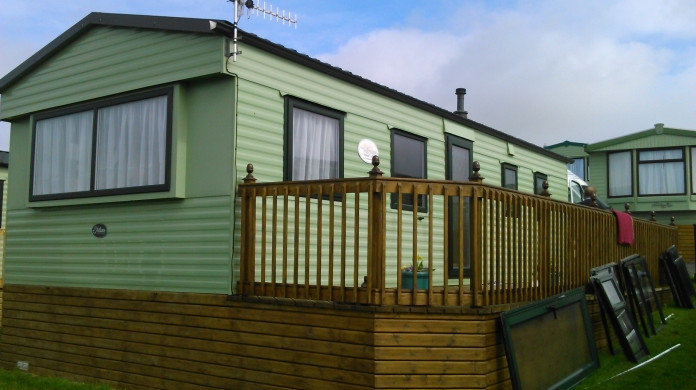 slimline static caravan double glazing windows and doors in Green, Lancashire