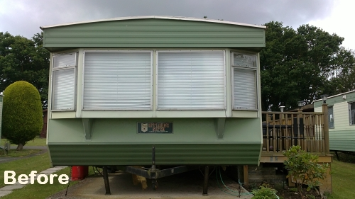 static caravan windows doors Hampshire