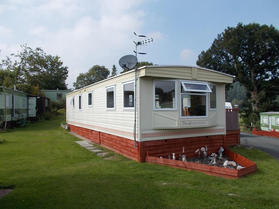 static caravan double glazing in Gwynedd, North Wales